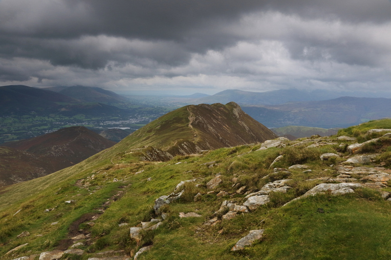 Causey Pike from Scar Crags