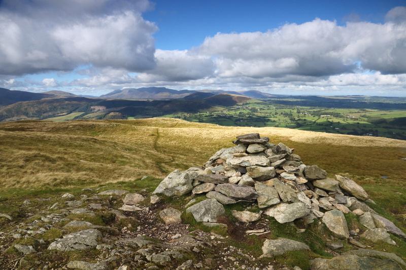 Arthur's Pike summit