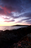 Cardigan Island Sunset