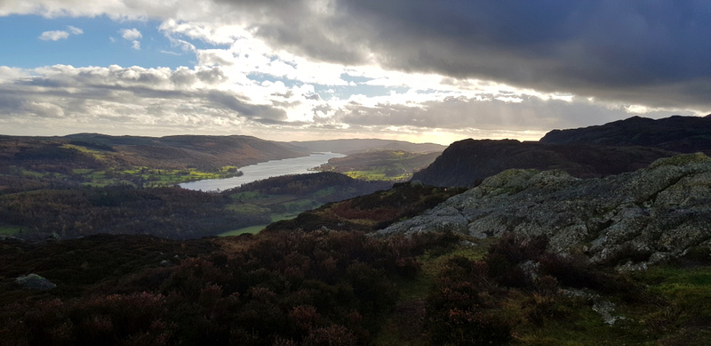 Coniston Water from Holme Fell summit 1