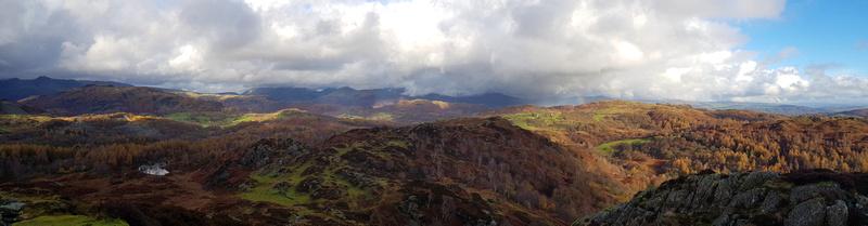 Ivy Crag panorama