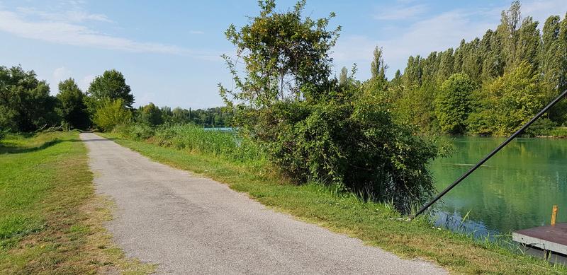 Mincio Riverside path