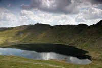 Red Tarn and Striding Edge, from Swirral edge