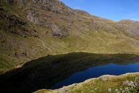 Above Low Water, on route up the Old Man of Coniston