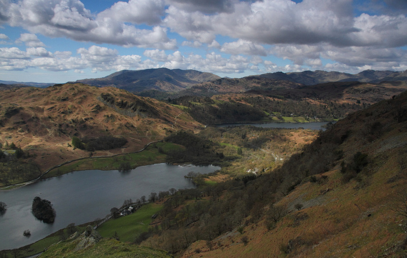 Rydal Water, with Grasmere in View
