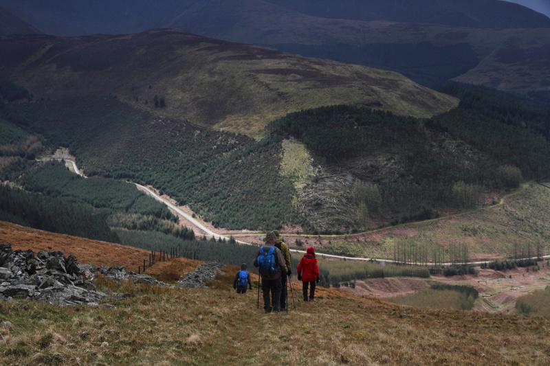 Descending from Broom Fell