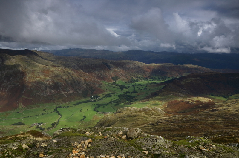 Langdale Valley from Pike O'Blisco