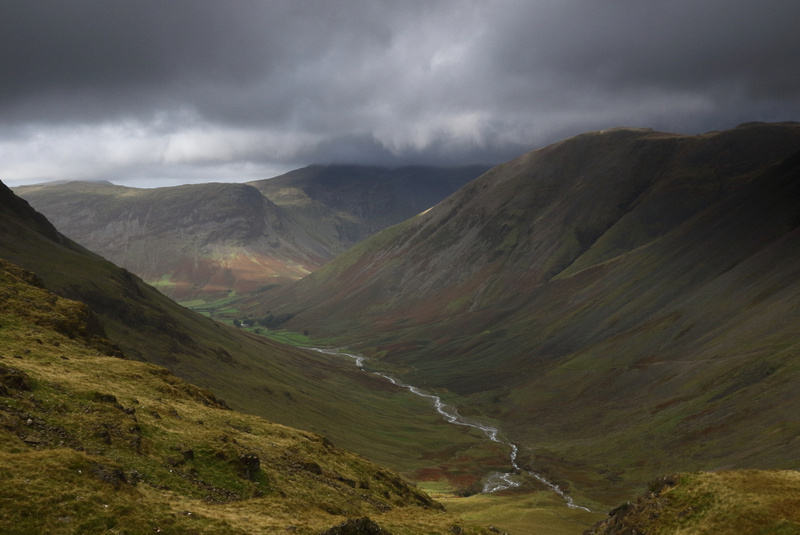 Wasdale from Corridor Route
