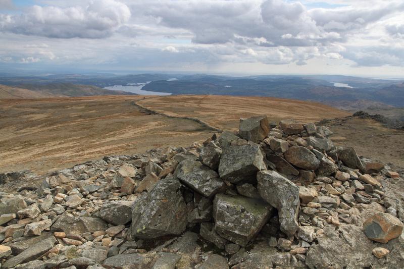 Dove Crag summit