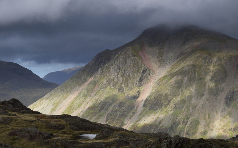 Great Gable from Corridor Route