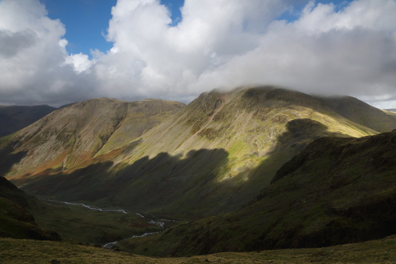 Kirk Fell & Great Gable from Corridor Route