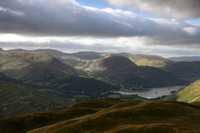 Boredale Hause & view across Ullswater from Angletarn Pikes