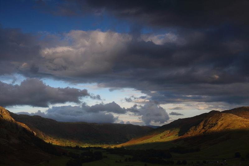 Evening Light, Langdale