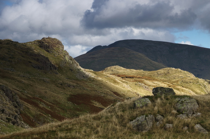 View back to Calf Crag