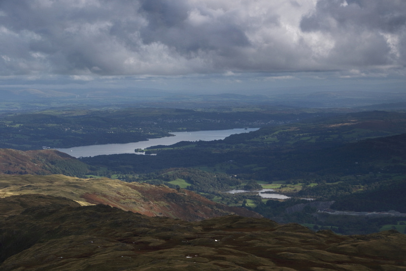 Windermere from Sergeant Man
