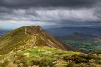 Approaching Causey Pike