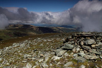 View from St Sunday Crag summit