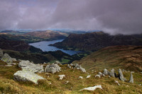 Ullswater from nr St Sunday Crag summit