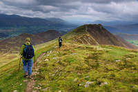From Scar Crags to Causey Pike