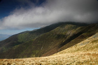 Approaching Blencathra from Scales Fell