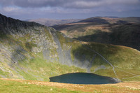 Scales Tarn and the start of Sharp Edge