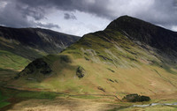 Fleetwith Pike from Scarth Gap path
