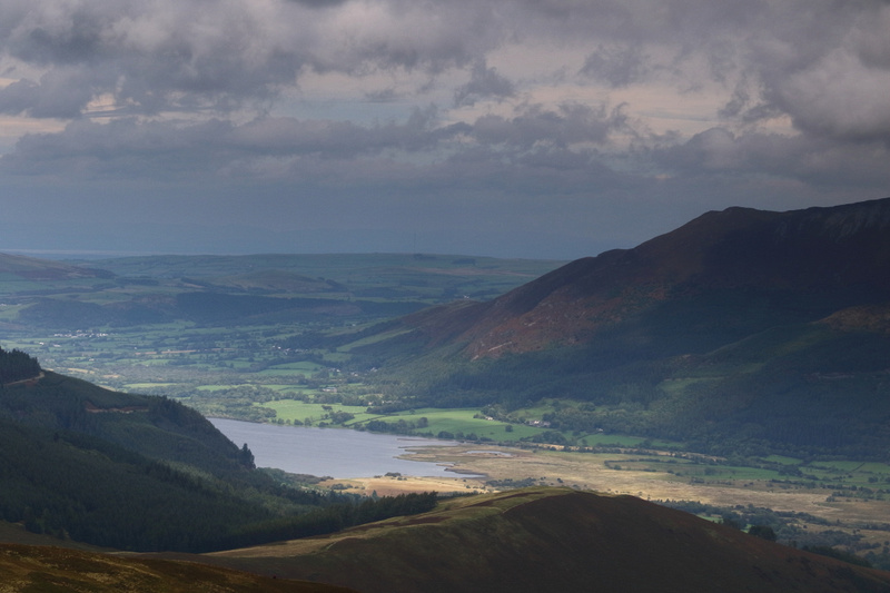 Bassenthwaite Lake and the foot of Skiddaw