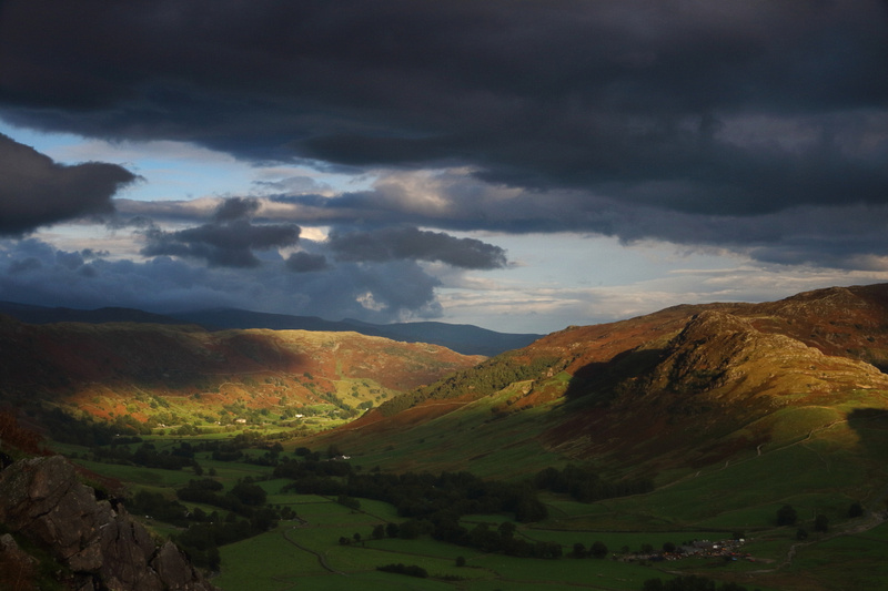 Evening Light, Langdale