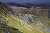 Distant view of Sharp Edge