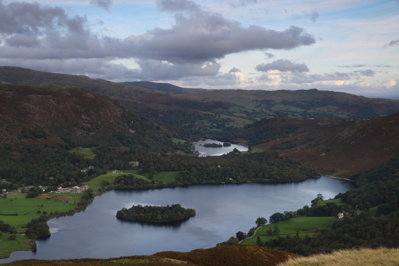 Grasmere & Rydal Water from Silver How