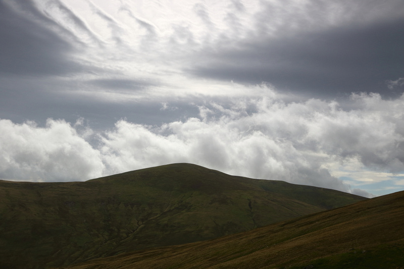 Cloud patterns, from route up Clough Head