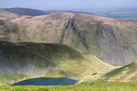 Scales Tarn and Bannerdale Crags