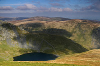 Scales Tarn and surrounding fells