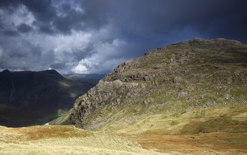 Back towards Pike O'Blisco