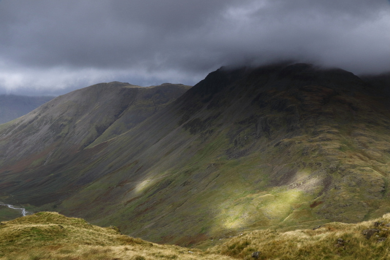 Great Gable and Kirk Fell from Corridor Route